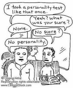 no-personality